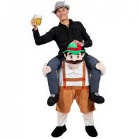 Best Adult Ride On Stag Mascot Animal Mascot Costumes Bavarian Oktoberfest wholesale