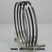 Best 110mm Ranger SD Truck Engine Piston Ring Set Hino H07CT 13019-1340A ( cyl ) Parts wholesale