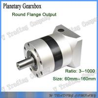 China 60mm series planetary gear box with three stages gear ratio for servo motor on sale