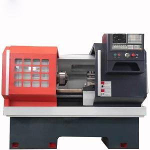 China CK Series CNC Horizontal Lathe Machine FANUC Flat Bed Type Specification on sale
