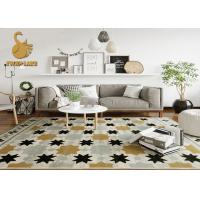 Breathable Printed Indoor Area Rugs For Living Room Easy To Clean