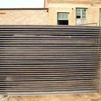China Binding Welded Mesh Fencing Steel Fence Posts With 1.2mm Wall Thickness on sale