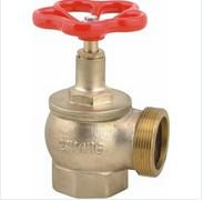 China High Pressure 2 BSP Fire Fighting Valves , Reliable Fire Hydrant Angle Valve on sale