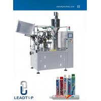 Best Toothpaste Automatic Tube Filling And Sealing Machine For Laminated Tube wholesale