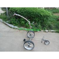 Buy cheap Noble 009R remote stainless steel golf trolley from wholesalers