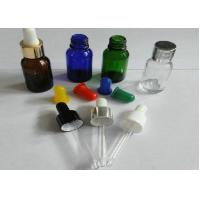 Best Printing Plastic Pipette Droppers with Cap, 20ml, 30ml For Medical Glass Tubes, Ampoules wholesale