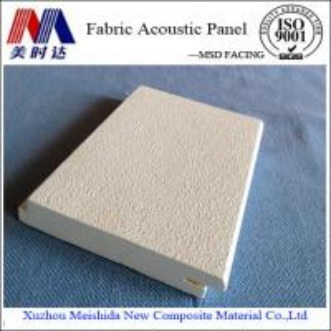 China Interior Decorative Fiberglass Acoustic Ceiling Panel on sale