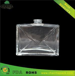 Best 52ml Square embossed Perfume Bottles wholesale