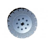 Cheap 7 Inch Vacuum Brazed Diamond Cutting Blade Both Side Coated 180MM * M14 for sale
