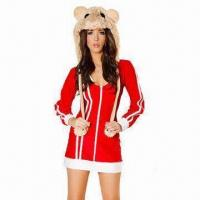 China Da bomb hip-hop lingerie costumes, includes hood, dress and leg warmer on sale