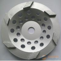 Best 7-Inch Diamond Cup Grinding Wheel For Concrete , Granite / Diamond Angle Grinder Wheel wholesale