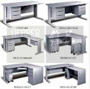 Best Metal Office Rectanular Tables (L-Leg) wholesale