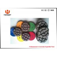 China Residential Terrazzo Diamond Polishing Pads For Floor Restoration And Renovation on sale