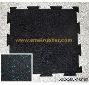 China Interlocking Rubber Flooring Mat on sale