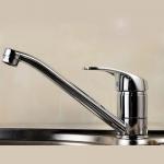 Best Ceramic Disc Valve Single Handle Bathroom Faucet Hot / Cold Mixer wholesale