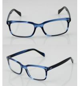 Best Fashion Acetate Mens Eyeglasses Frames, Blue Handmade Acetate Eyewear Frames wholesale
