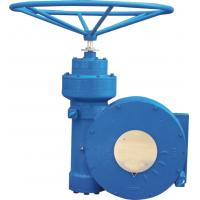 China Cast Steel IP67 Gear Operator  Multi - Stage Partial - Turn Gear Operator on sale