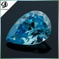 China 2015 hot sale high quality auqa blue synthetic diamond for sale on sale