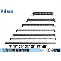 China Super Slim Led Light Bar Single Row 7 13 20 25 31 37 49  Mini Off road Light Bars on sale