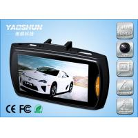 Cheap Seamless 2CH Dual Camera Car DVR Wide Angle Loop Recording With Automatic Start MOV for sale