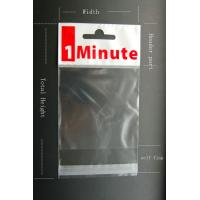 China Promotional Self Seal OPP Header Bag Disposable For Christmas Gift on sale