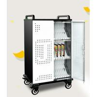 China Spcc Material Laptop Charging Cabinet / Laptop Charging Cart For Educational Equipment on sale