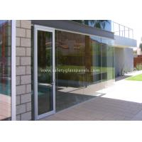 Low Iron 8mm Safety Tempered Glass Panels For Outdoor / Indoor /  Window