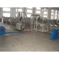 Best Hot Cutting PVC Plastic Pelletizing Machine / Plastic Recycling Granulator with Conical Twin Screw Extruder wholesale