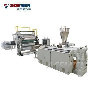 Best Artificial Slab Stone Making Machine , Marble Making Machine Sheet Plastic PVC wholesale