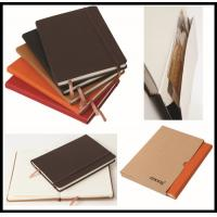 Best hot sale leather cover Cheap Custom Notebook/school exercise books/diary wholesale