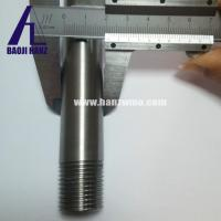 China 99.95% high purity tungsten pipe for industry use high temperature resistance on sale