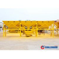 Best Four Aggregate Bins Concrete Batching Machine Feeding Belt High Performance wholesale