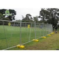 Best Stainless Steel Temporary Fence Panels / Portable Security FencingFor Traffic wholesale