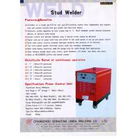 Buy cheap Portable Arc Welding Machine / Stud Welding Equipment With Shear Connector product