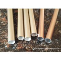 China T3 ~ TT8 20 x 20 Aluminium Oxide Round Tube With Golden and Copper Color on sale