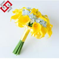 Best 2014 Hot Sell Artificial Calla Lily Flower For Wedding  Bride Bouquet wholesale