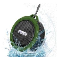China Portable IPX5  shower waterproof wireless c6 blue tooth speaker on sale