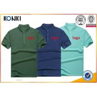 Best Men'S Navy Color Personalized Polo Shirts Stand Collar Fashion T - Shirt wholesale