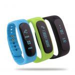 E02 Smart Wristband Waterproof Bluetooth Sport Smart Bracelet with sleep monitor