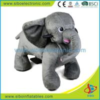 Best Plush Riding Animals Kids Card Battery Led Plush Motorized Animals wholesale