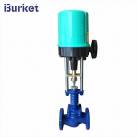 Best DN25 4-20ma 220v50hz Electric motor drive proportional Steam Control Valve for Textile pipelines wholesale
