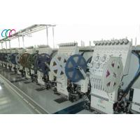 Best 12 Heads Multi Heads Mixed Flat And Sequin Embroidery Machine wholesale