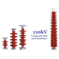 China 110 kV Polymer Line Post Type Insulator Safety For Power Substations on sale