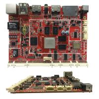 China 1.6mm PCB Assembly Services Red PCB Board For Industrial Motherboard on sale