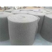 Cheap Gas Liquid Filter Stainless Steel Knitted Wire Mesh 0.3mm - 5.0mm Wire Gauge for sale