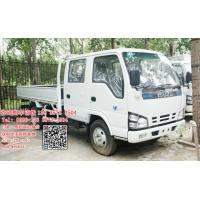 Best Isuzu 600p crew cabin light cargo truck diesel engine 130hp Euro protect enviroment wholesale