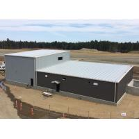 Buy cheap Single Slope Prefabricated Workshop Building With High And Lower Span from wholesalers