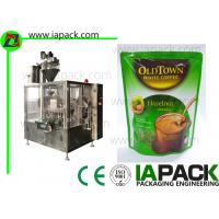 China Powder Sachet Packaging Machine / Powder Auger Filling Machine Bag Feeding on sale