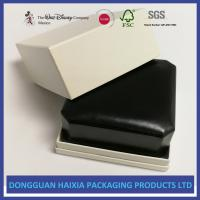 Best Black Appearance LED Jewelry Packaging Boxes Handmade For Ring / Pendant wholesale