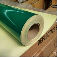 Best Osign Green Reflective Vinyl Film PVC Type Suitable For Digital Printing Durable wholesale